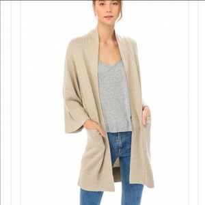 Lumiere Tan Cardigan with Pockets